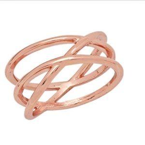 Premier design rose gold serene ring NWT